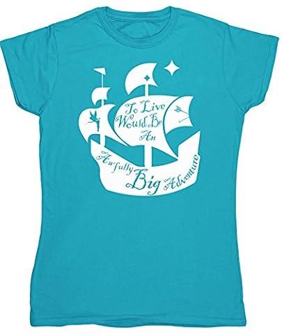 HippoWarehouse Damen T-Shirt Gr. xxl, Blau -