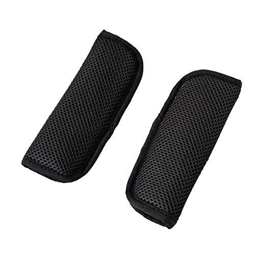Chen0-super Sicherheitsgurt-Polster für Sicherheitsgurt, weich, Schulterpolster für Kinder Schwarz