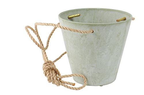 Artstone Blumenampel, Pflanzgefäß Claire, frostbeständig und leichtgewichtig, eukalyptus, 22x22x20 cm, 136227