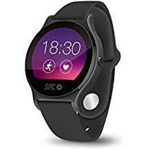 "SPC Smartee Circle - Smartwatch de 1.22"" (IPS, Linux, Bluetooth 4.0 BLE) negro"