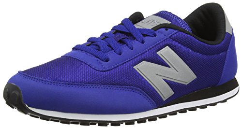 New Balance U410v1, Baskets Basses Mixte Adulte Bleu (Blue/White)