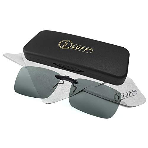 fd54fac719 Clip polarizado unisex en gafas de sol para anteojos recetados-Buenas gafas  de sol estilo