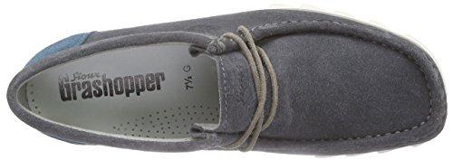 Sioux Grashopper-H-161-02, Mocassins (loafers) homme Gris - Grau (cenere/petrolio)