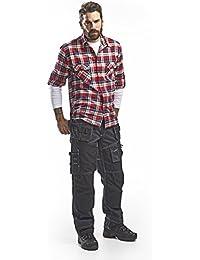 Blakläder 150011408999C52 Pantalon d´Artisan Taille C52 Bleu Marine/Noir