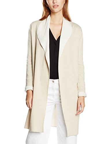 NIZZIN Damen Strickjacke Tulip Beige, Small