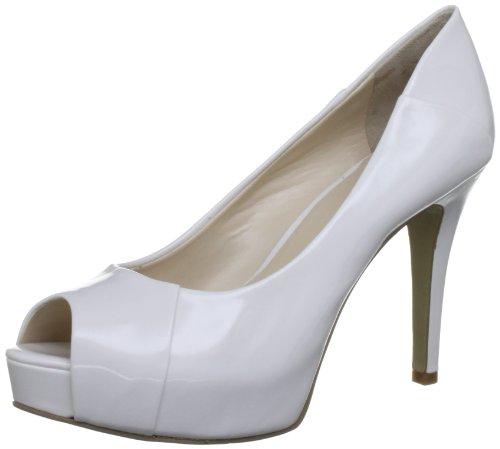 41kvrGLWkmL Nine West Womens Cadee3 White Open Toe 6 UK