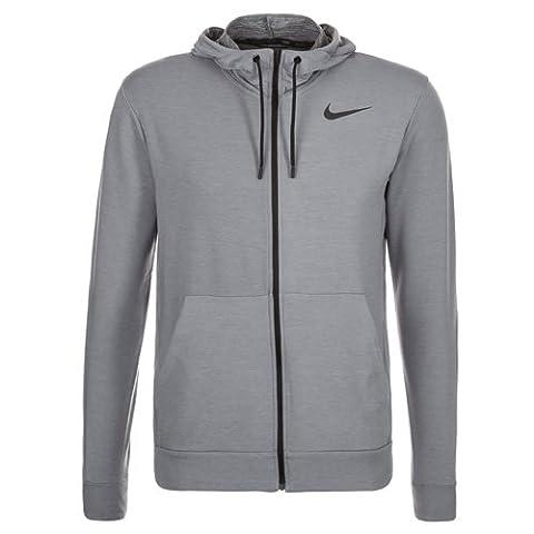 Nike Dry Veste à capuche Homme Cool Grey/Pure/Black/Black FR : S (Taille Fabricant : S)