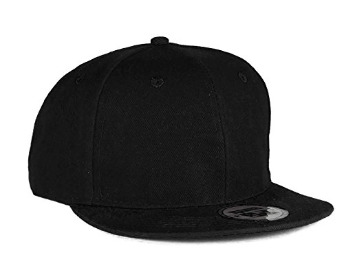 4sold Unisex Original Flat Peak Snapback Dual Colour Cap Men Women Plain  Casual Snap Back Cap 3fb81fc51be