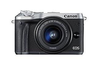 Canon EOS M6 Systemkamera (24,2 MP, 7,62cm (3 Zoll) Full HD, APS-CCMOS-Sensor, DIGIC 7 Bildprozessor, Kit inkl. EF-M 15-45mm 1:3,5 -6, 3 IS STM Objektiv) silber (B06W9K61SB)   Amazon price tracker / tracking, Amazon price history charts, Amazon price watches, Amazon price drop alerts
