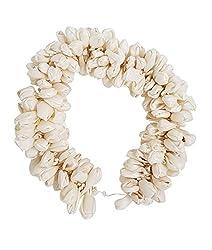AASA Gajra For Hair Bun Making, Gajra Hair Flowers, White, 30 Gram, Pack Of 1 (10246)