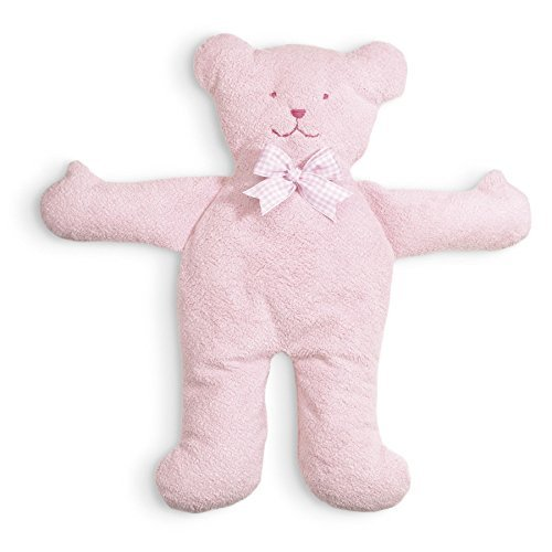 North American Bear Pastel Pancake Bear Plush Toy, Pink by North American Bear