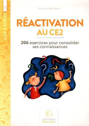 Réactivation au CE2 : 206 exercices pour consolider ses connaissances