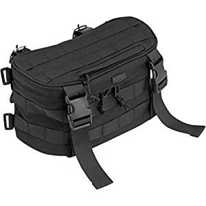 Biltwell Exfil-7 Motorcycle Bag BE-SML-07-BK by Biltwell