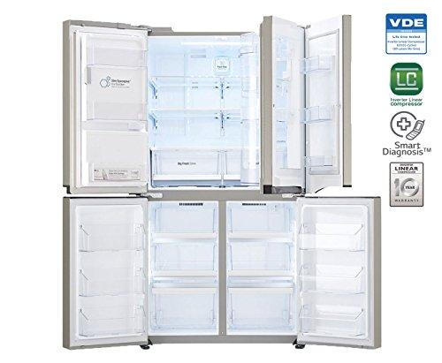 LG 889 L In Frost-Free Multi-Door Refrigerator (GR-J31FWCHL, Artline)