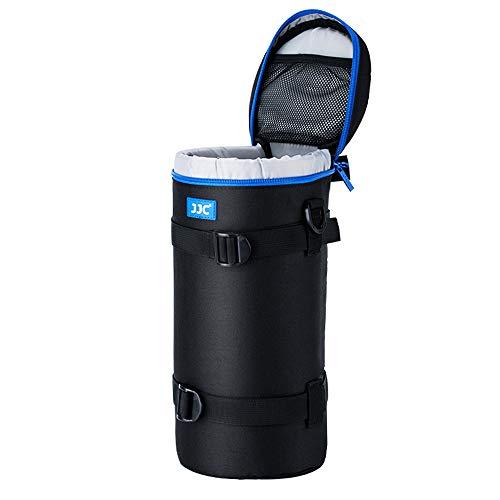 PROfoto.Trend/JJC VII Deluxe Objektiv Tasche mit Umhängeband, Wasserabweisend, Schwarz, passt Objektiv Durchmesser und Höhe unter 144 x 316mm (5.55 x 12.44)