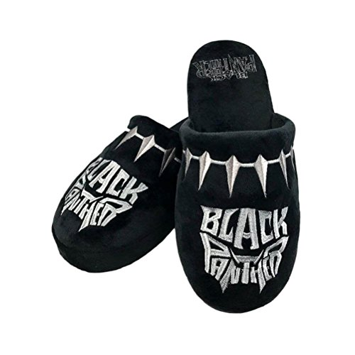 Groovy Black Panther Slippers Logo Size L Marvel Calzature