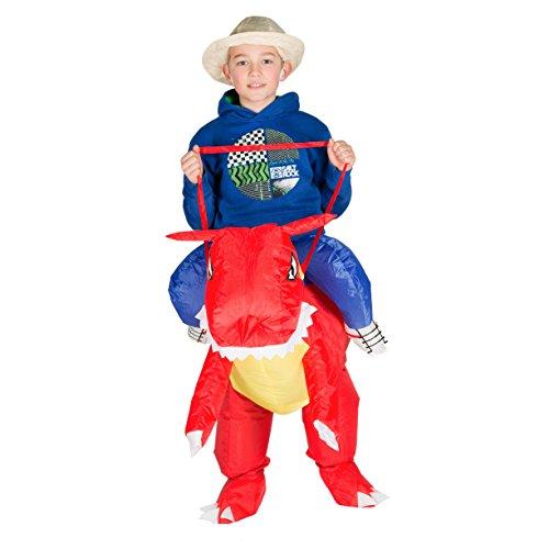 Imagen de hinchable infantil disfraz dragón  alternativa