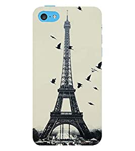 Vizagbeats birds over eiffel tower Back Case Cover for Apple iPhone 6