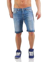 LTB Herren Bermuda LANCE Jeans Shorts Kurze Hose Denim Denton Wash XL
