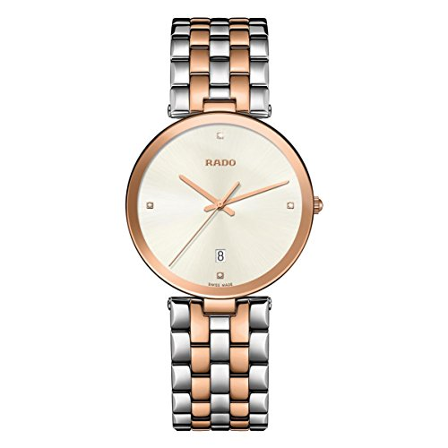 RADO WOMEN'S FLORENCE 38MM TWO TONE STEEL BRACELET QUARTZ WATCH R48869733