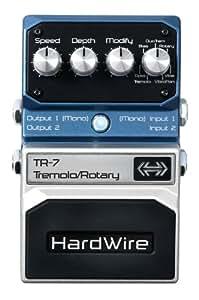 HardWire Tremolo Rotary HTR7 Pédale d'effet pour Guitare Bleu