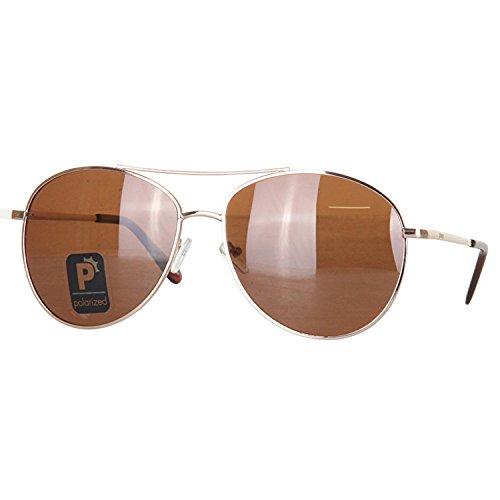 GlassY Herren Sonnenbrille Daewon Gold