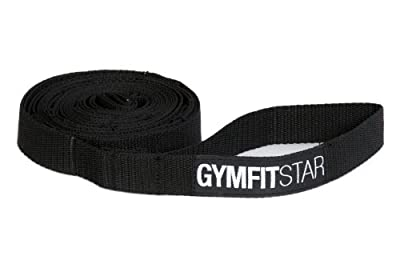 Yogistar Yogagurt Dynamic Stretching Strap, Black
