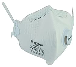 Bosch MAF2 Fine Dust Mask (White, Pack of 15)