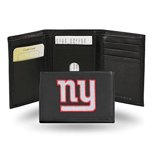 Unbekannt Besticktes Portemonnaie von NFL, dreifach gefaltet, Unisex Herren, RTR1401, New York Giants, einheitsgröße (York Zubehör New Giants)