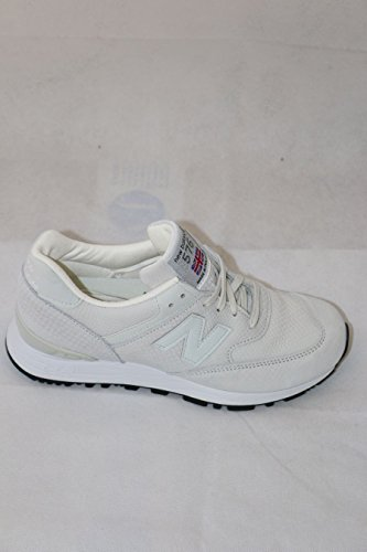 New Balance 576 Women's Real Leather Sneaker White W576NRW, Size:39