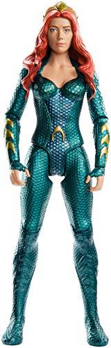 (Mattel FXF92 DC Aquaman Mera 30 cm Figur, Spielzeug Actionfiguren ab 4 Jahren)