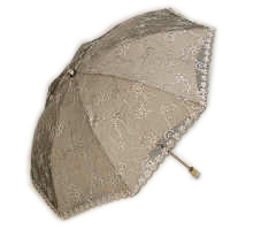 PACK Zwei Fold Double Stickerei Umbrella High Grade Sonnenschirm Lace - Black Lace Sonnenschirm