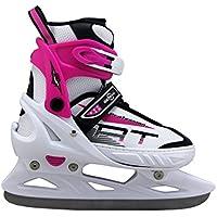 Kounga Senhai Patines de Hockey Sobre Hielo, Mujer, Blanco, S (33-36)