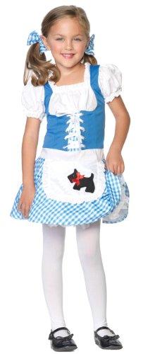 Avenue Leg Kostüm Dorothy - Leg Avenue C48115 - Kinderkostüm Darling Dorothy Dirndl, Größe XS, blau/weiß