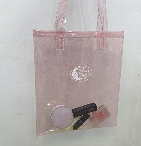 Remeehi, Borsa a mano donna, Rose Red (Blu) - JXVV04623-4 Pink