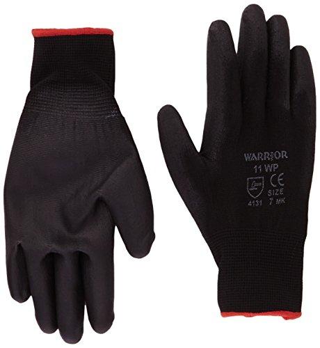 warrior-nb7-pu-coated-nylon-work-gloves-black-size-7-small-set-of-12