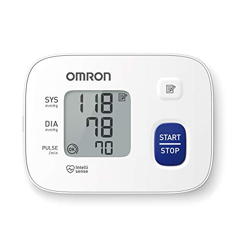 Omron RS1 -  Tensiómetro de muñeca,  color blanco