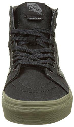 Vans Sk8-Hi Reissue, Sneakers Hautes Mixte Adulte Noir (Vansguard)