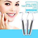 Haolv Saubere Zahn Fleck Radiergummi Plaque Remover 4 Köpfe Zahnaufhellung Multifunktions Sonic LED Dental Tool Kit Mundhygiene Pflege