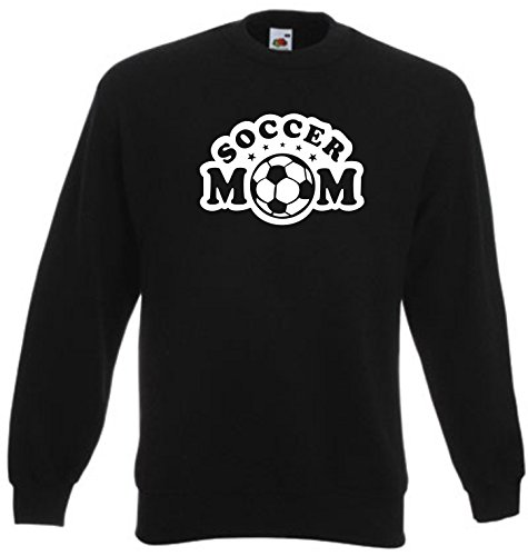 Black Dragon - Sweatshirt Herren & Damen schwarz - XL - Fruit of The Loom - Bedruckt - Soccer Mom Decal Truck Bumper Window Vinyl Sticker - Fasching Party Geschenk Funshirt -