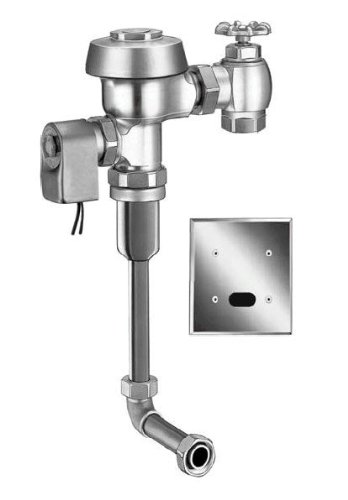 SLOAN Royal 195-1.0es-s verdeckter, Sensor betrieben Royal Modell Urinal Flushometer, für 3/10,2cm Rückseite Spud UR, 2bis 10-3/4ldim - Spud 1.0 Urinal