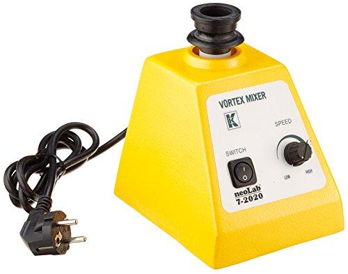 neoLab 7-2020 Vortex Reagenzglasmixer, Gummi Test