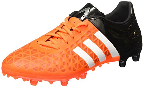 adidas Ace15.3 Fg/ag, Chaussures de football homme Arancione (Arancione/Nero/Bianco)