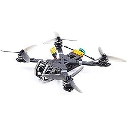 Goolsky GEPRC Elegant BNF RC Racing Quadcopter 230mm 2-5S 40A con Frsky R-XSR Receptor 3K Carbón Completo 00TVL FPV Racing Drone para Entrenamiento de Competencia