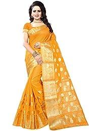 [Sponsored]Roadstar India Women's Tussar Silk New Colletion Party Wear Saree Kanjivaram Style(RS_GOKUL_Series_2017_2018_SAREE)