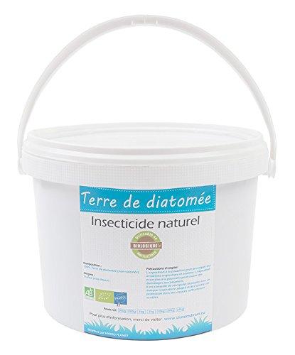 HYDROPLANETE Terre de Diatomée Grise 200g 1kg 2kg 10kg - Insecticide 100% Naturel, utilisable en Agriculture Biologique - Origine France (1kg)