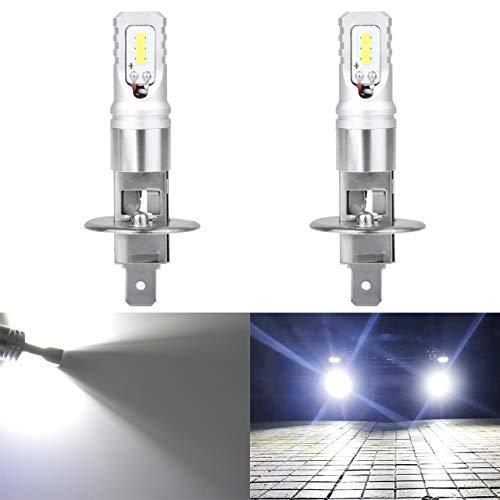 KaTur Extrêmement Brillant Top avancé CSP LED puces Jour HRL Jour de la Voiture HRL Courante Ampoules ou Feux de Brouillard - 6500K Blanc xénon 1600LM étanche IP68 80W