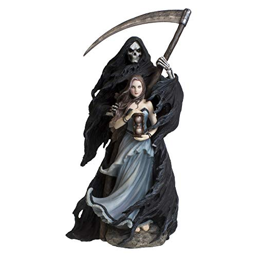 Nemesis Now Dekofigur Summon The Reaper, Kunstharz, 30 cm, Schwarz, Einheitsgröße