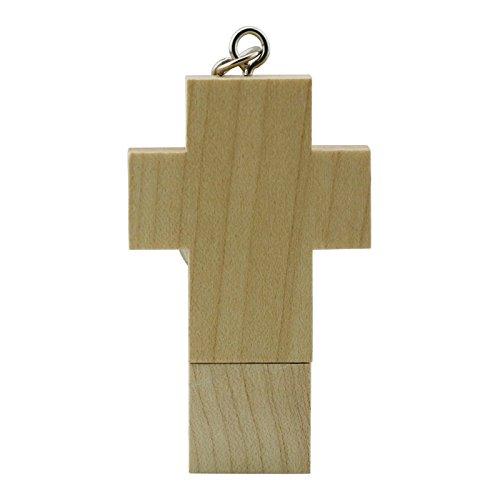 16gb croce di legno pen drive usb flash drive usb flash drive pendrive chiavetta usb thumb bastone