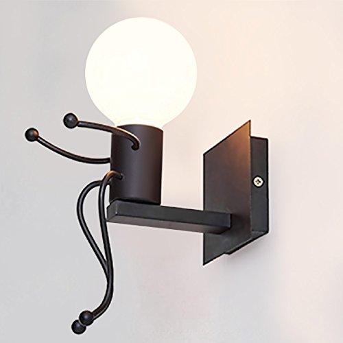 KAWELL Creativo Vintage Lampada da Parete Industriale Retro Applique ...